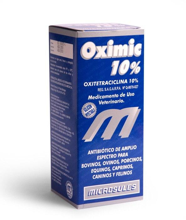 OXIMIC 10% INYECTABLE